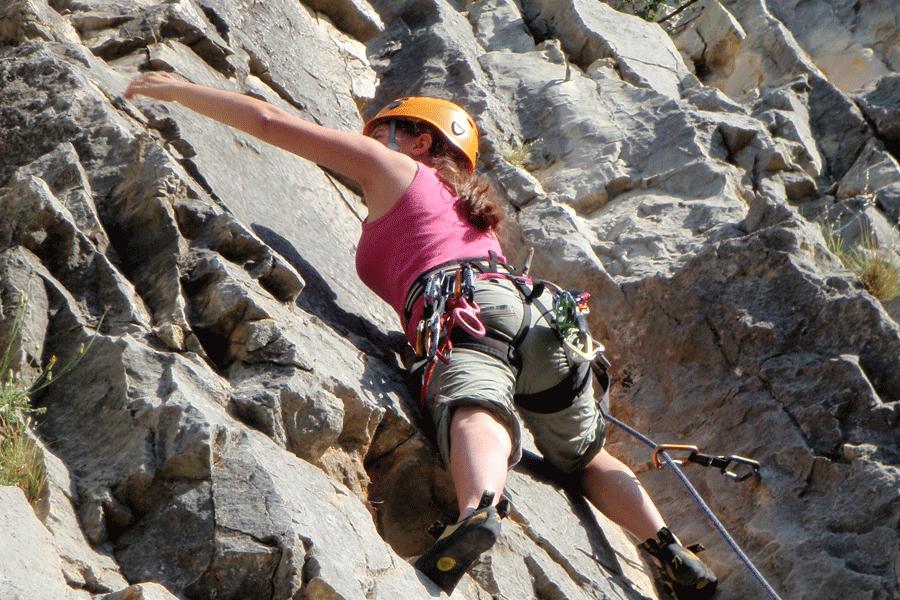 Initiation à l'escalade dans le Chassezac (Lozère – Ardèche)