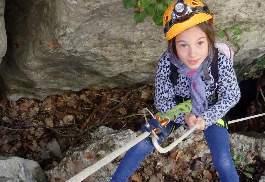 Multi-activités verticales pour les Chtis Bouts (Lozère – Ardèche)