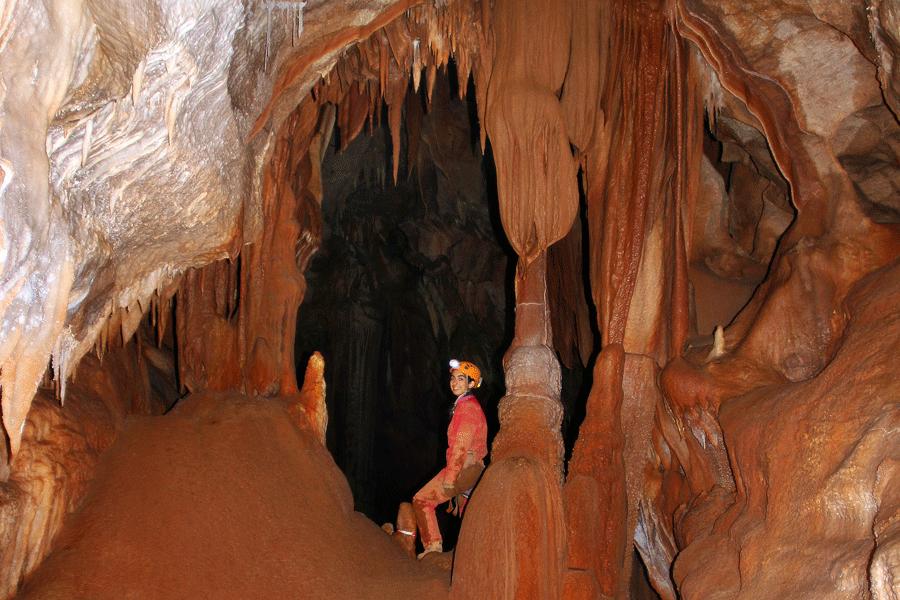spéléo découverte (Ardèche)