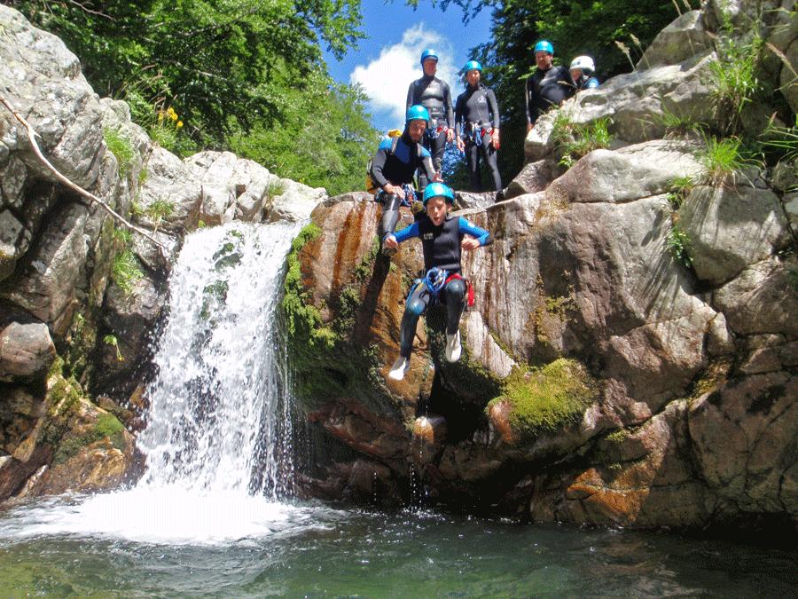 Canyon de la Haute Borne (Ardèche)