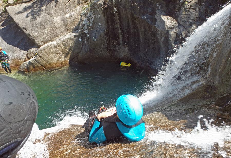 Canyon du Rieutort (Lozère)