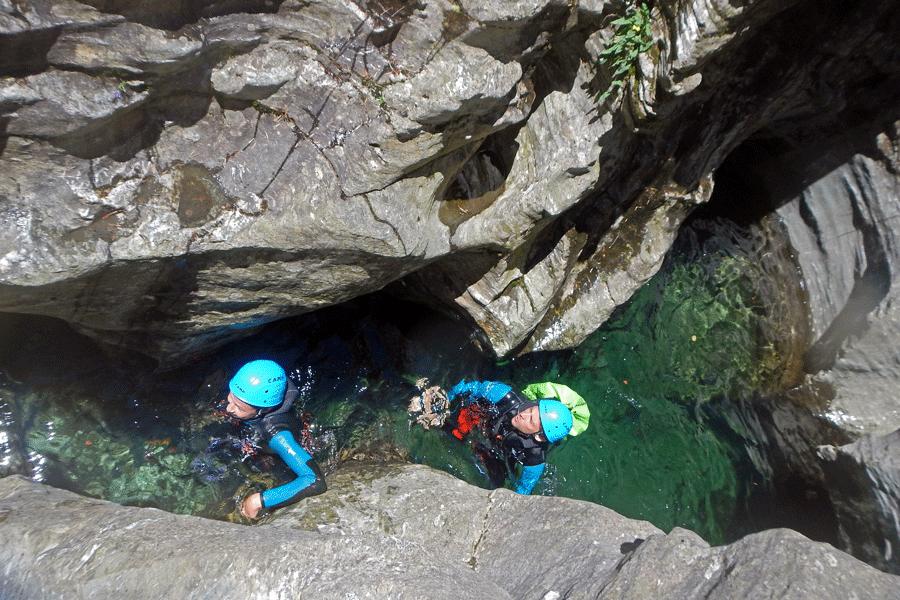 Canyon du Roujanel (Lozère)
