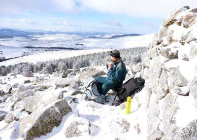 Initiation aux techniques de randonnée hivernale